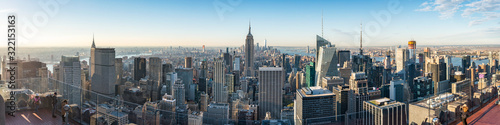 Fototapeta New York City skyline panorama obraz