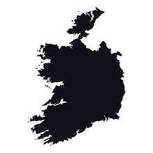 High Detailed Ireland Vector M...