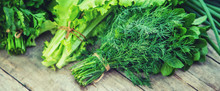 Fresh Homemade Greens From The...