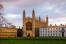 Kings College Chapel In Later ...