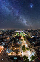 Buenos Aires At Night - Classical Aerial View