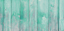Vintage Pale Teal Wood Backgro...