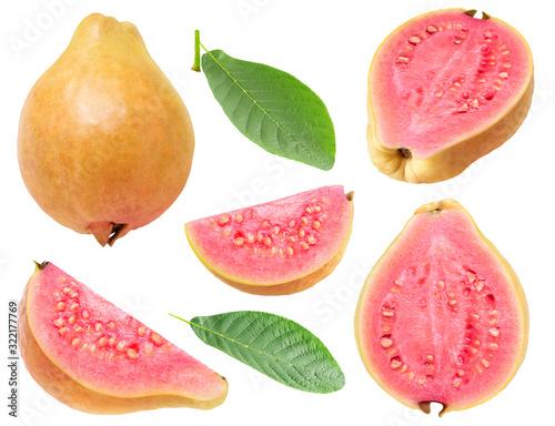 Obraz na plátně Isolated guava