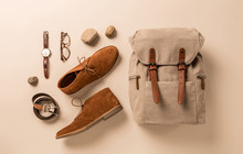 Men's Accessories - Camel Shoe...