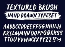 Hand Drawn Textured Brush Stro...