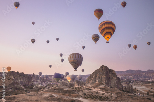 Balloons over Capadoccia - Turkey