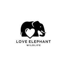 Creative Elephant Logo Style W...