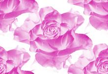 Watercolor Flowers. Seamless B...