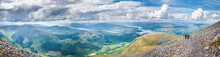 Panorama Of Fort William, Loch...