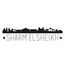 Sharm El Sheiki Egypt. City Sk...