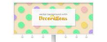 Billboard With Sun Umbrellas O...