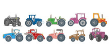 Tractor Vector Set Collection ...