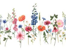 Beautiful Floral Summer Seamle...