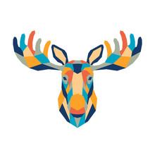 Geometric Polygonal Moose. Abs...