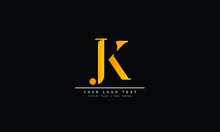 JK ,KJ ,J ,K  Letter Logo Desi...