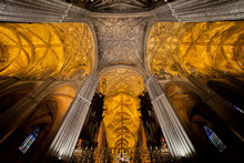 Gothic Vaults Of Seville Cathe...