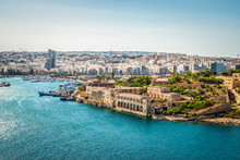 Manoel Island With Old Fort An...