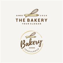 Bakery Vector Logo Design Template