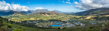 Panoramic View Of Franschhoek ...