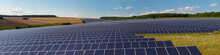 Panorama Of Solarpark Thüngen...