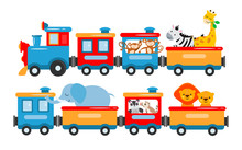 The Concept Vector Illustration Is Entertainment, Travel, Circus Show