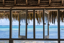 Open Windows Of Thatched Roof ...