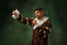 King's Self-portrait. Portrait...