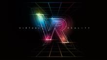 VR Logo Layout. Modern Templat...