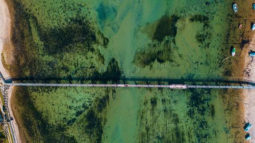 Photo Pont vue aérienne, Bretagne
