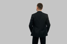 Back View Of Businessman With ...