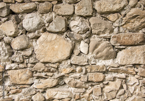 Stone texture and background. Abstract background made with stones.