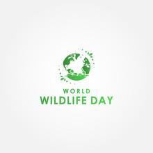 World Wildlife Day Vector Desi...