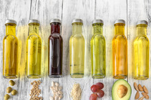 Assortment Of Vegetable Oils