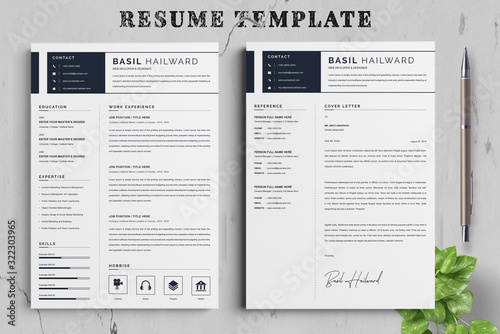 Fototapeta Resume / CV