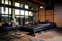 Interior Of A Machine Hall At ...