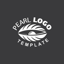 Pearl Logo White Color Cockle ...