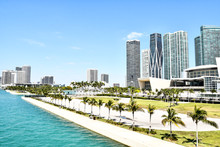 View Of Miami Skyline, Photo A...