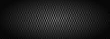 Dark Black Geometric Grid Back...