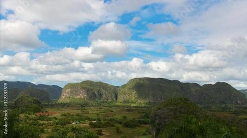 Fotografía Vinales Valley time-lapse during the day, Pinar del Rio, Cuba