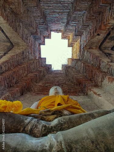 Wat Nakhon Luang No.3,Nakhon Long,Phanakohnsri Ayuthaya Canvas Print
