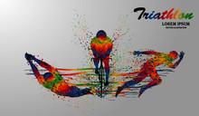 Visual Drawing Swimming, Cycli...