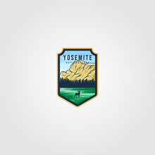 Yosemite National Park Logo Ou...