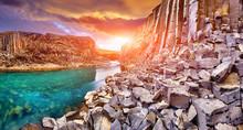 Studlagil Basalt Canyon, Jokul...