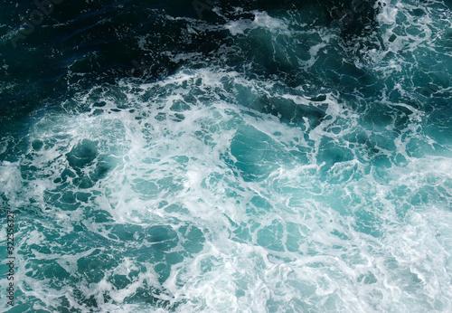 Fototapeta Background of aqua sea water obraz