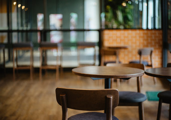 Chair Interior of a modern restaurant or bar