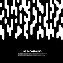 Lines Halftone Transition. Bac...