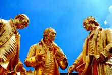 Golden Statue Of Industry