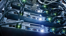 Big High Tech Server Data Cent...