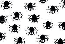 Seamless Pattern With Spider F...
