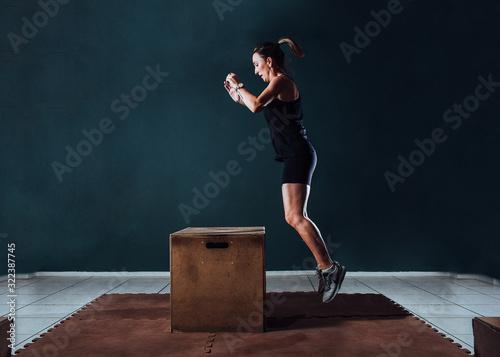Photo Atleta pulando